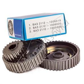 Шкив ГРМ зубчатый (комплект 3 шт.) на ВАЗ 2110-2112 (16V)
