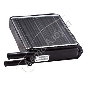 Радиатор печки (отопителя) алюминиевый с уплотнителем в сборе на Калина