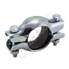 Хомут глушителя в сборе с кольцом и крепежом на ВАЗ 2108-099, 2110-2115