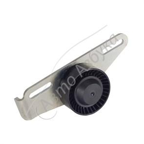 Ролик с кронштейном ремня генератора на ВАЗ Ларгус без кондиционера