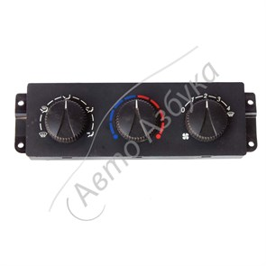 Блок управления отопителем (без кондиционера) на ВАЗ Приора